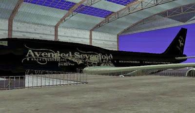 Mod MOD Pesawat Avenged SevenFold