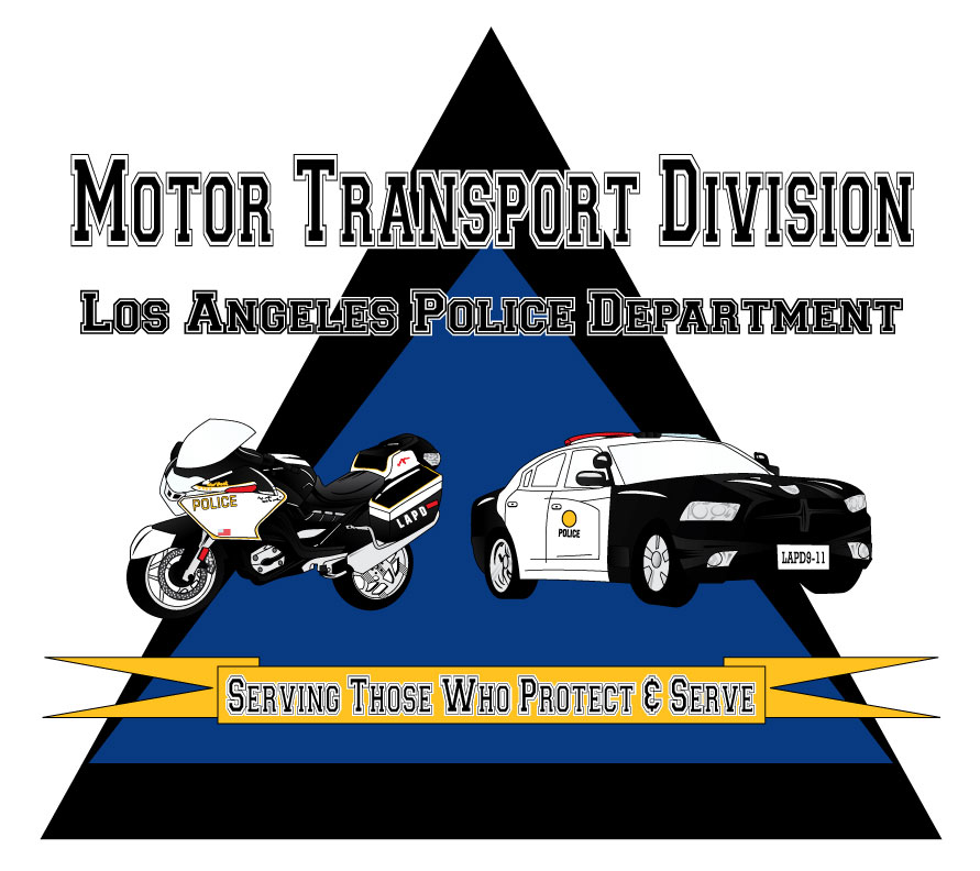 lapd motor transport division kus screen printing