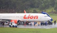 Lion Air dari Tarakan Tergelincir, Sepinggan Lumpuh 7 Jam