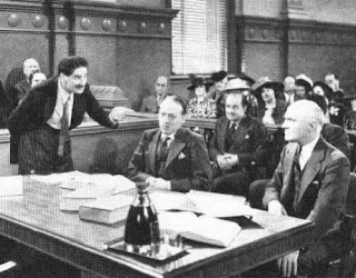 Groucho Marx in court