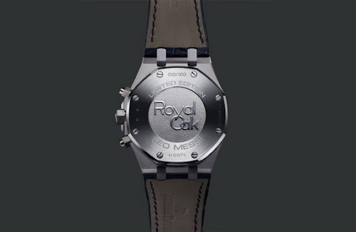 This is what a Leo Messi Royal Oak chronograph looks like