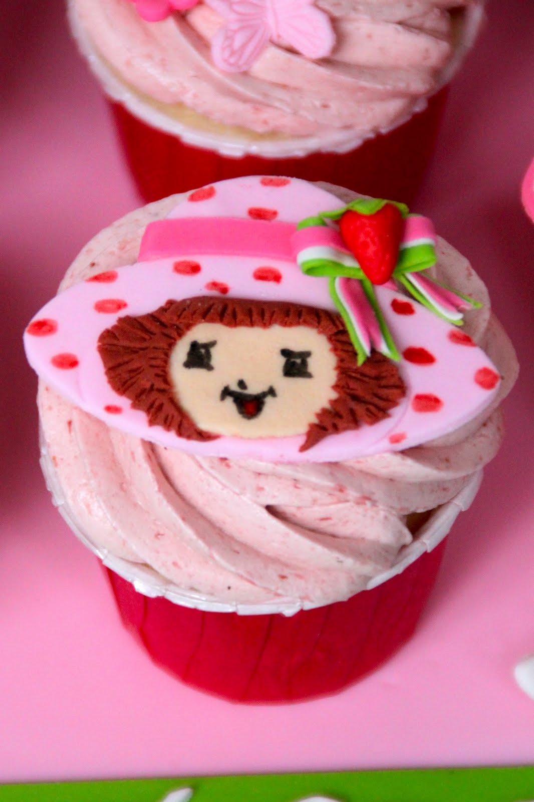 Celebrate with Cake!: Strawberry Shortcake Cupcakes