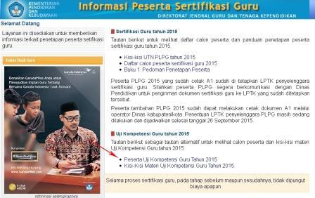Jadwal Pelaksanaan UKG Online