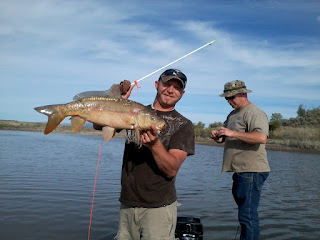 Bowfishing in Blackfoot Reservoir