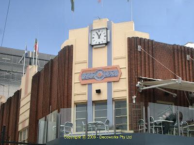 Hotel corner facade