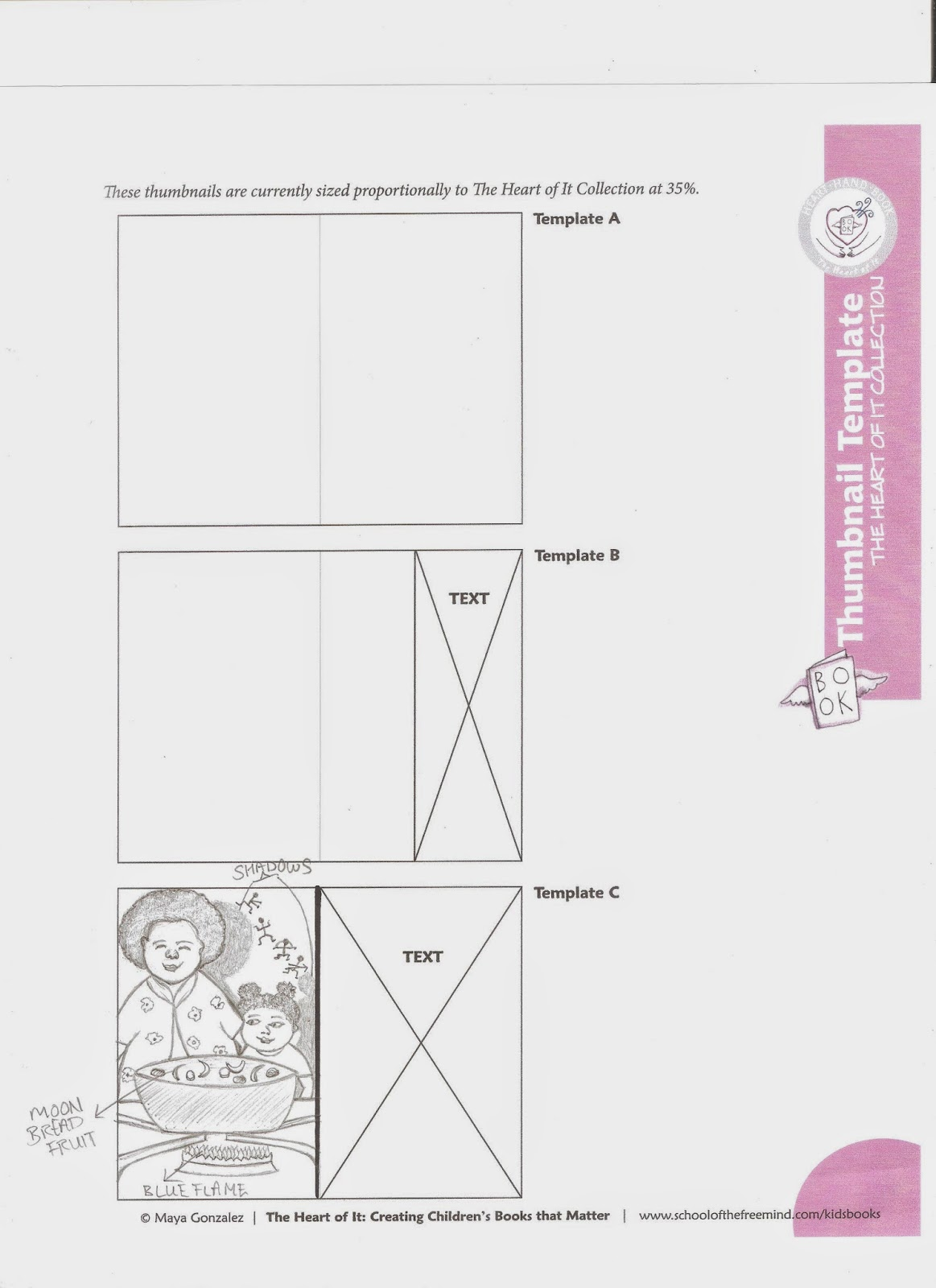 Summer Edward Writer Childrens Editor The Diagram Below Is Just A Rough Guide To Layout Of Typical I Chose Half Spread Page As You Can See In My Final Thumbnail We Were Given Templates Work With For Our Thumbnails