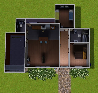 Lollysims february 2011 for Starter home floor plans