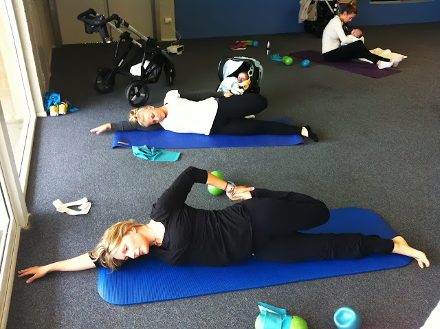 pilates for mothers