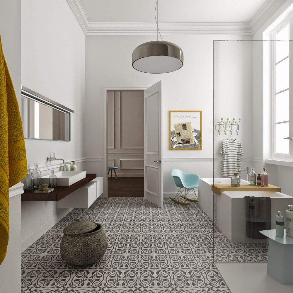 D couvrir l 39 endroit du d cor perfection 3d for Salle de bain carrelee jusqu au plafond