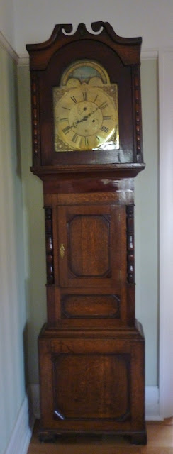 Grandfather clock from Wales