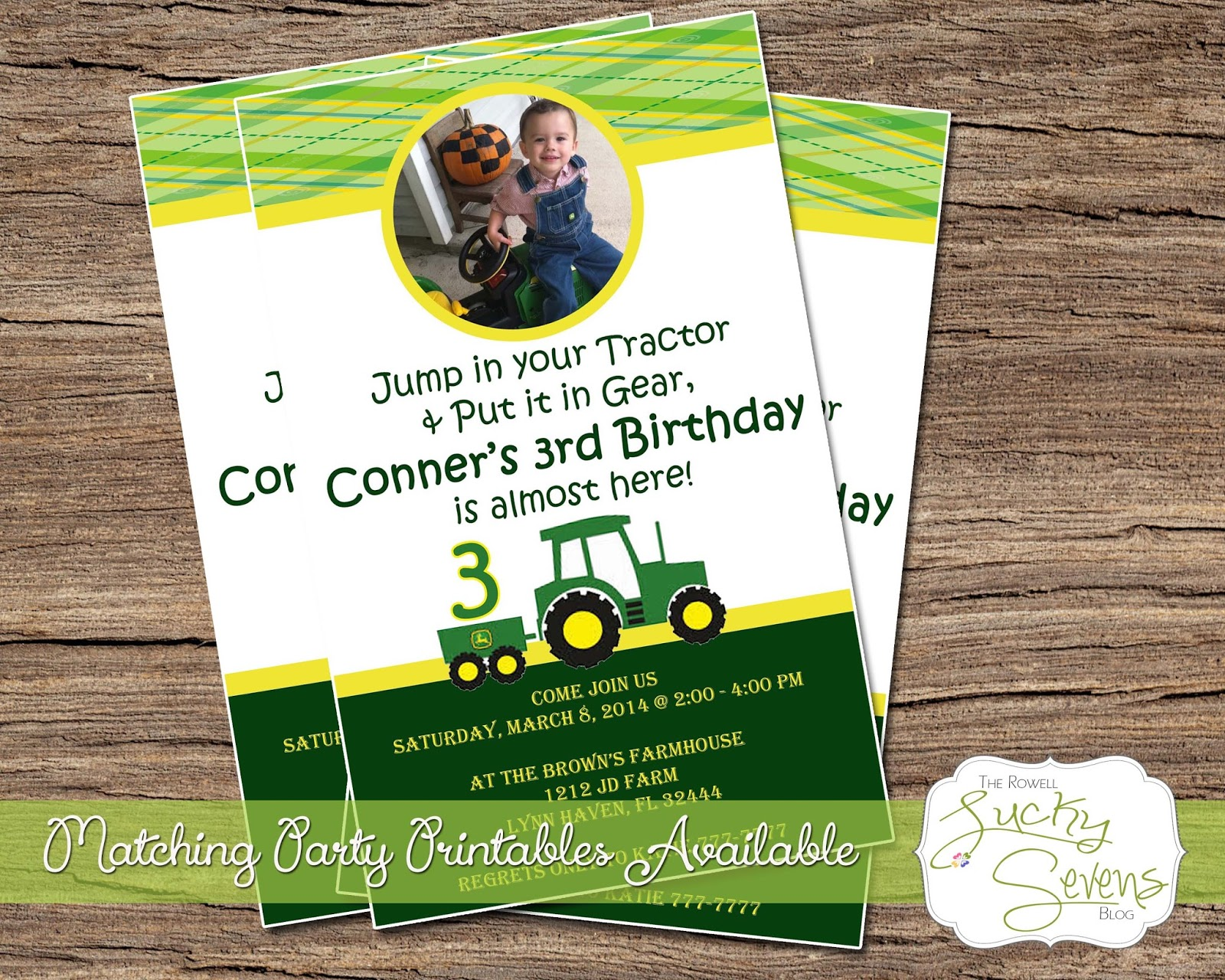 email party invitations plumegiant com birthday party archives u2014 criolla brithday u0026 wedding lucky sevens lucky7s studio john deere - John Deere Party Invitations