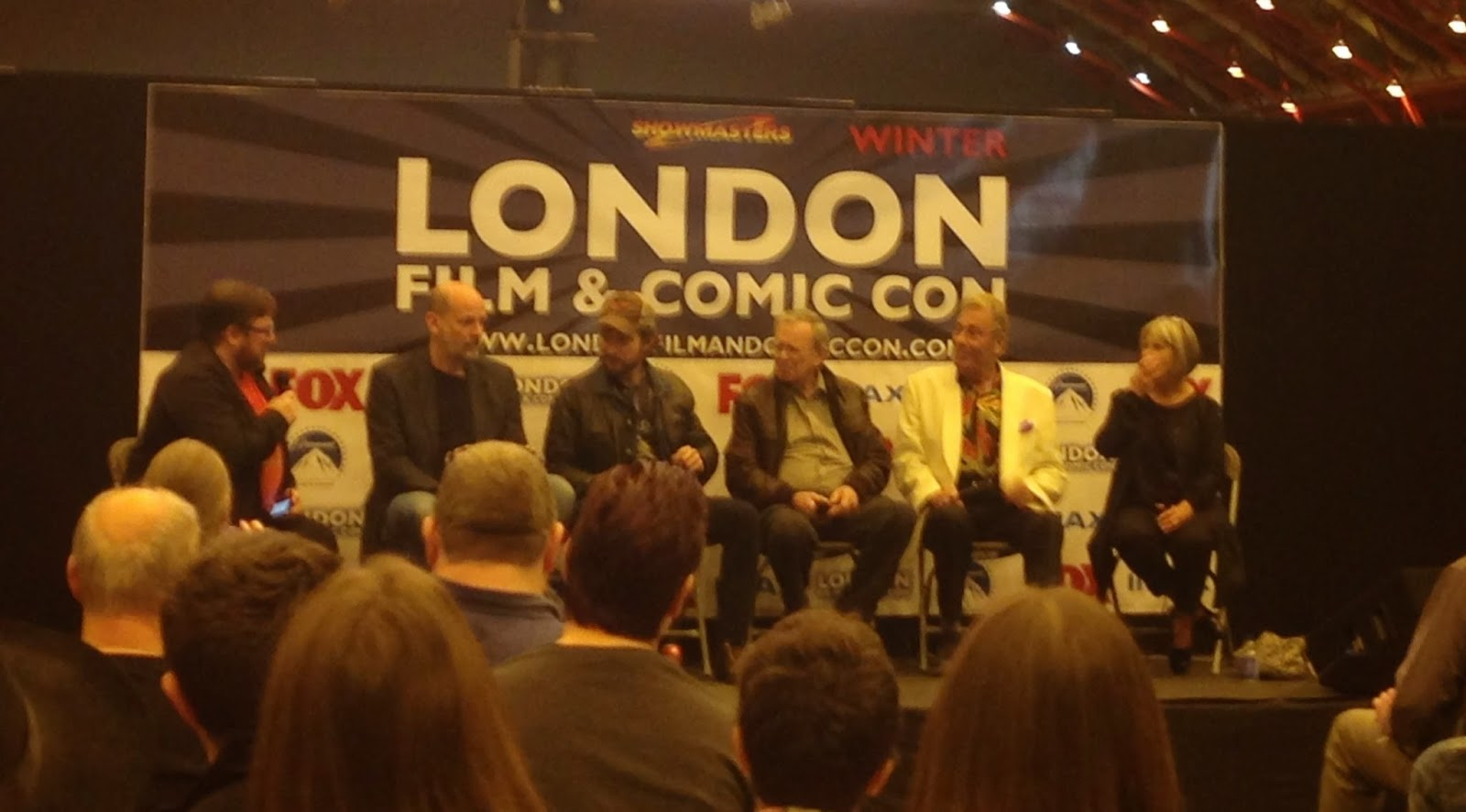 London Film & Comic Con Winter Doctor Who Panel
