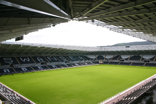 liberty stadium swansea vs manchester united