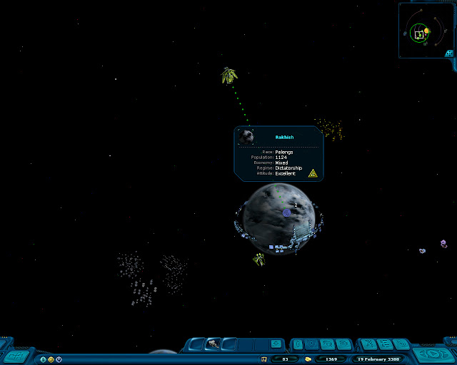 Space Rangers: A War Apart - Rakish Planet Screenshot