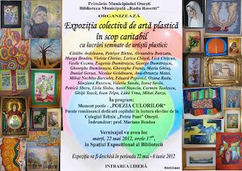 Expoziţie în scop caritabil - imagini şi listă de preţuri