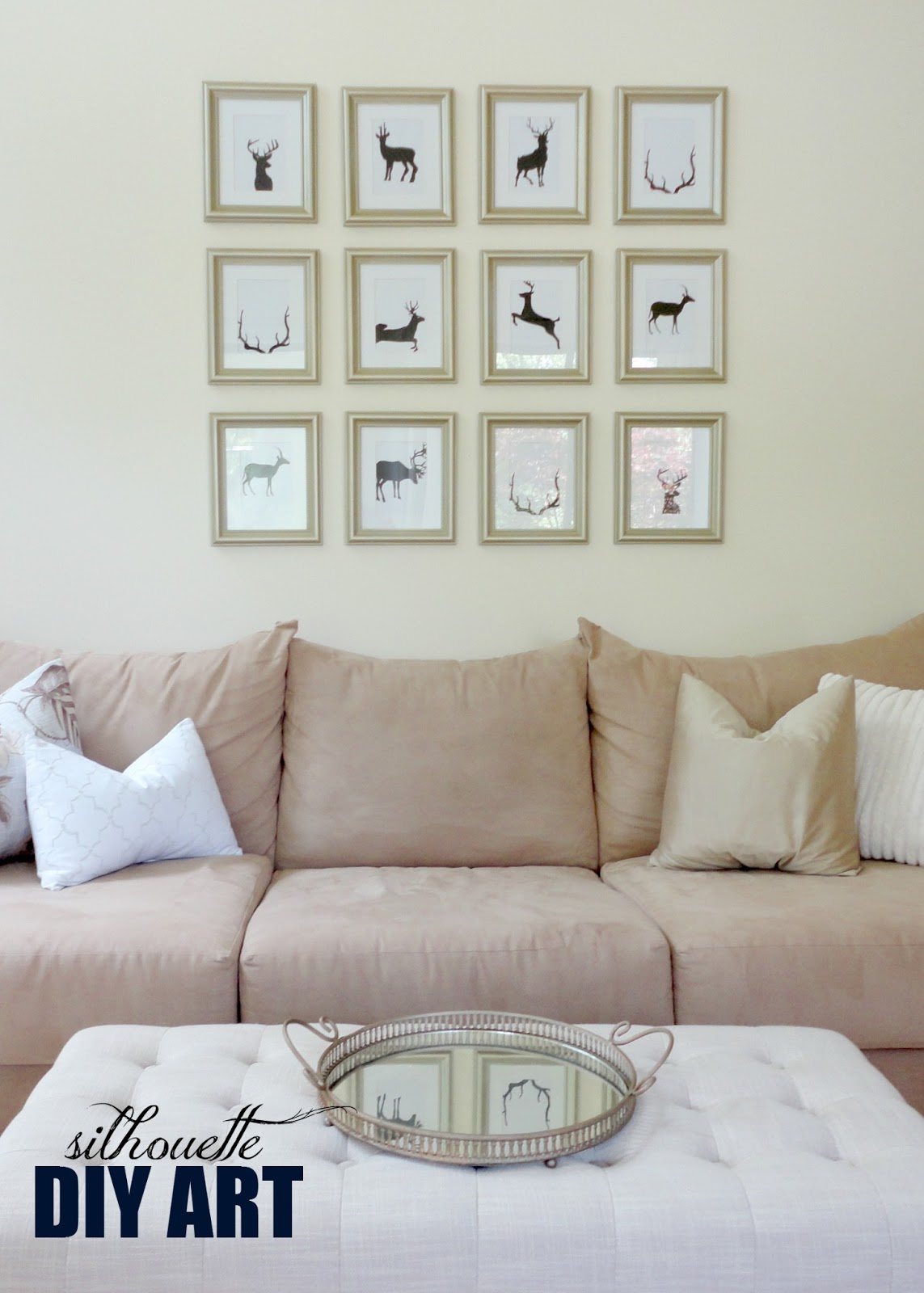 LiveLoveDIY 10 DIY Art Ideas Easy Ways To Decorate Your Walls
