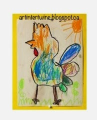 Art Intertwine - Picasso Inspired Roosters