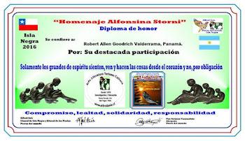Diploma por Participación Antología