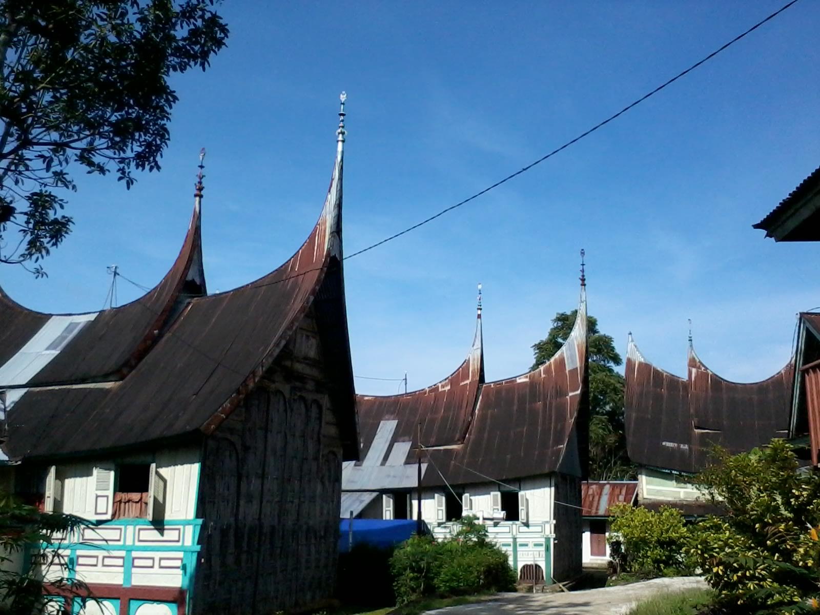 Rumah Gadang di Pariangan