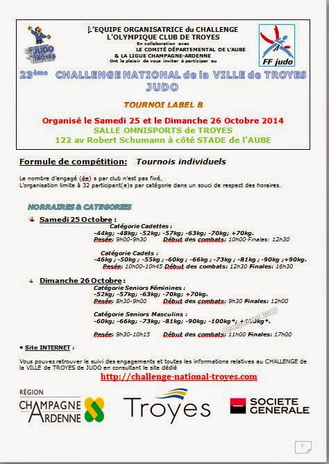 Challenge National Troyes New2014