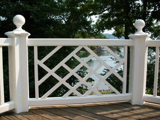 The polohouse chinese chippendale for Porch gate plans