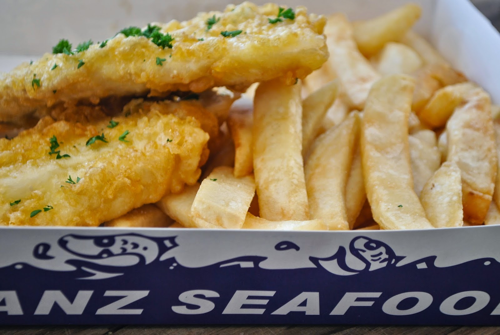 Recipe doodle travel tuesday raglan new zealand for Best fish and chips recipe