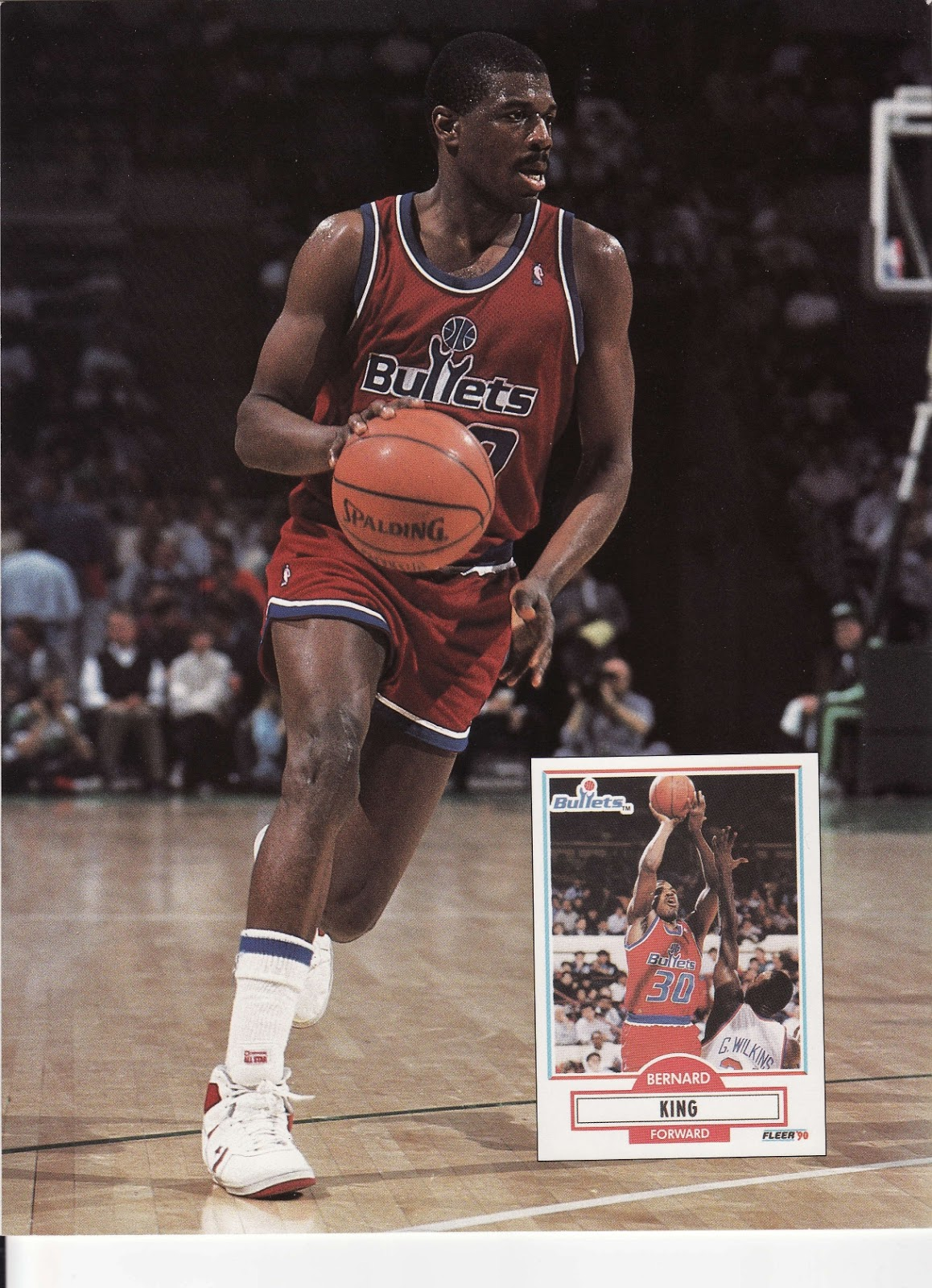 Bernard King from Beckett Basketball Monthly