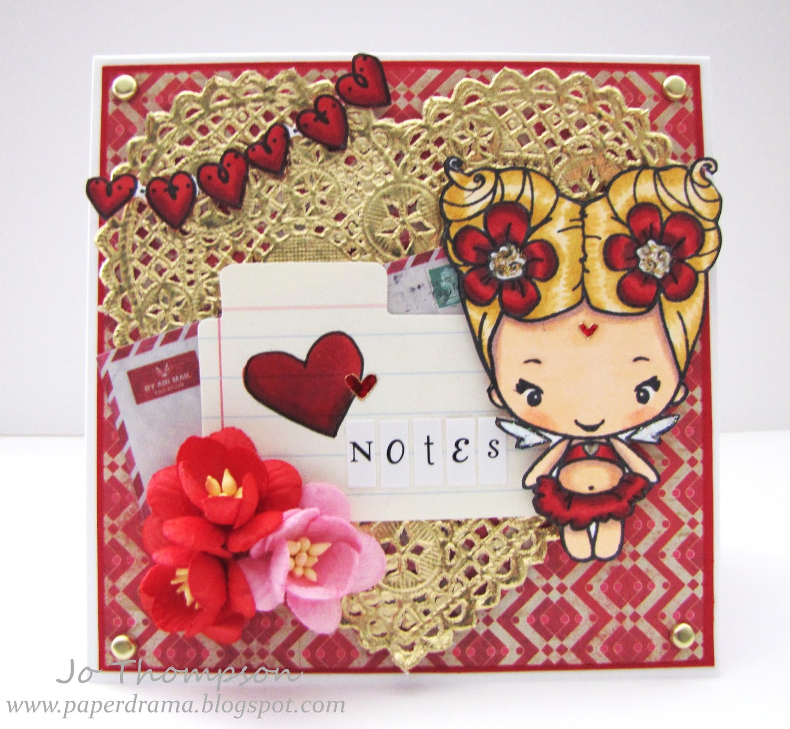 Splendid Stamping With The Greeting Farm Love Notes