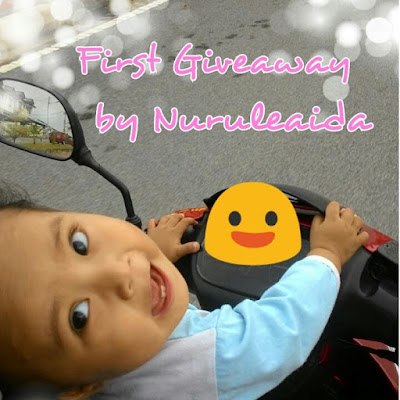 first giveaway by nuruleaida, syarat penyertaan