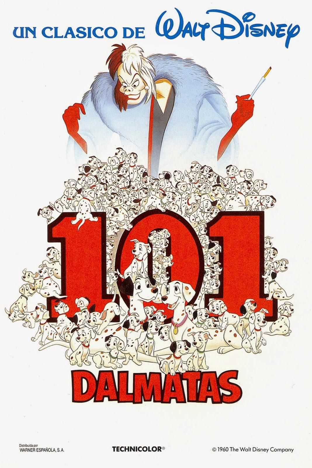Los 101 dálmatas - Cartel