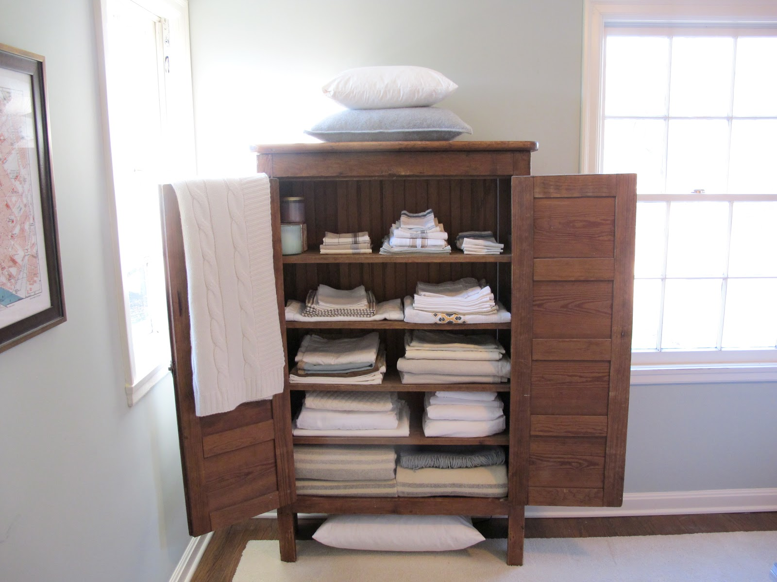 My Linen Closets Creative Storage In Our Small House