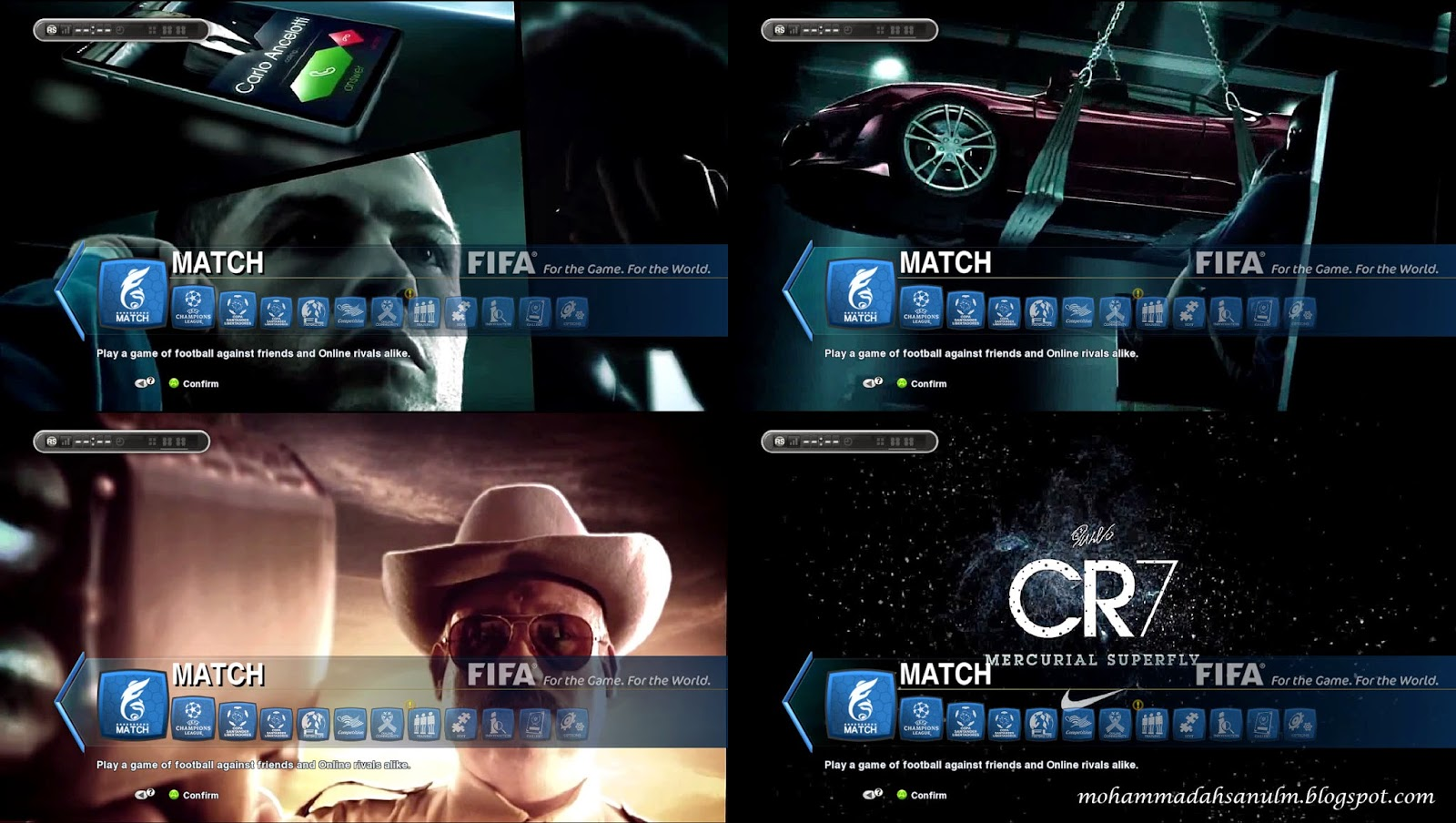 "PES 2013 Video Background ""CR7 In Out of This World"" by Asun11"