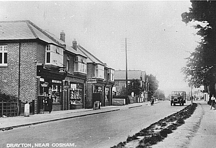 Havant Road Drayton 1930's