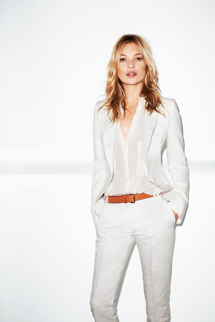 Kate Moss, MANGO, Summer 2012, lookbook