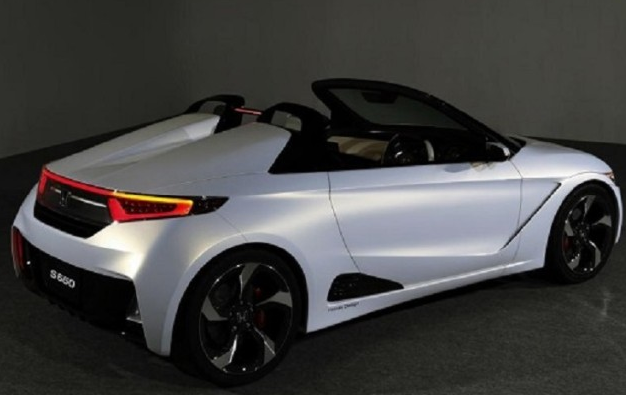 2016 Honda Beat S660 Rear View