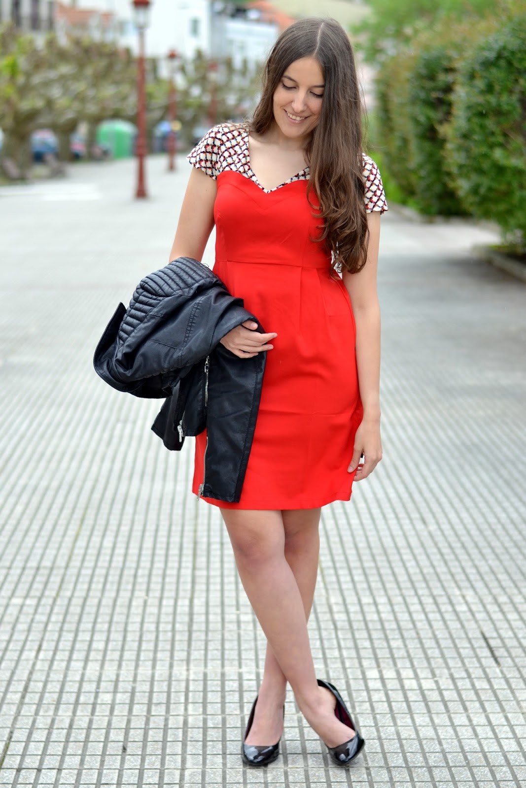vestido rojo titis clothing
