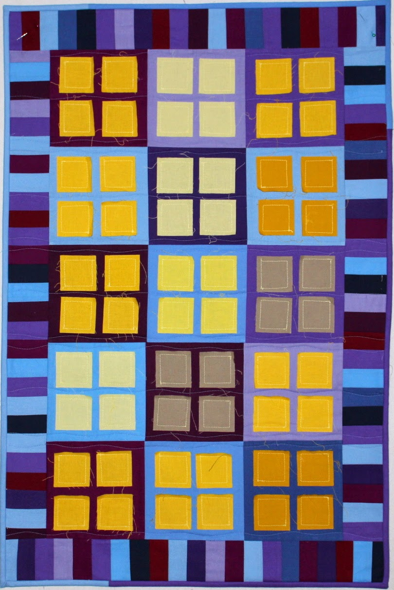 New Quilt Patterns For 2015 : Selvage Blog: New City Lights Quilt Pattern!