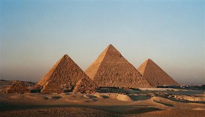 Necropolis de Giza en Egipto