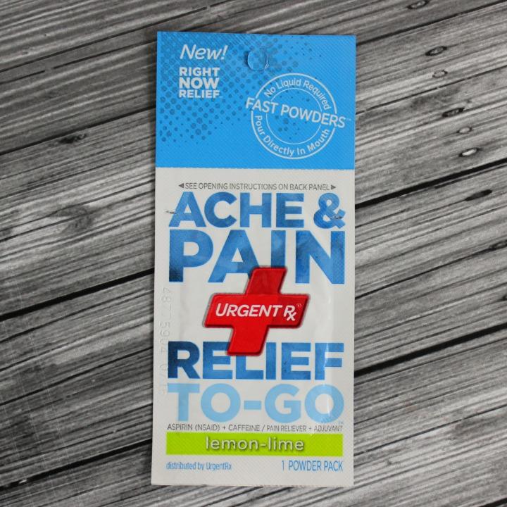 UrgentRx Ache & Pain Relief - Lemon-Lime