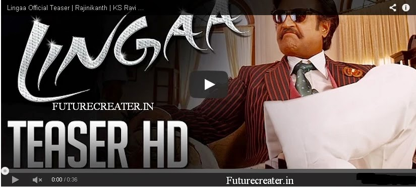 Rajinikanth's Lingaa Teaser, Trailer