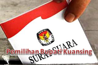 Hasil Pilkada Kuansing 2015 Berdasarkan Kecamatan
