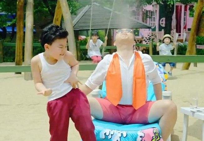 Gangnam Style Kid