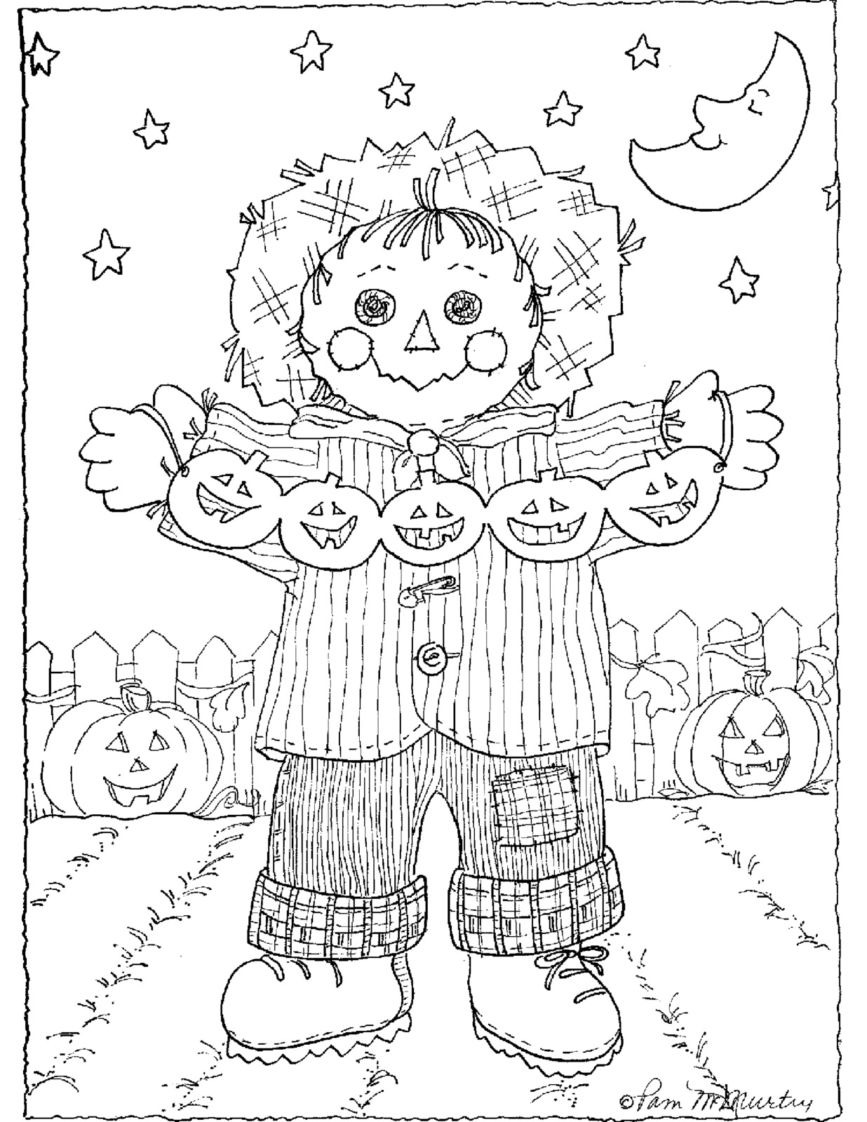 Scarecrows - Policecar