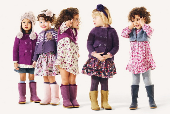 1001 fashion trends: Benetton Fall 2012 Kids Clothing