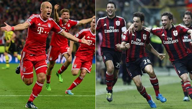 Bayern Munich vs Milan en vivo