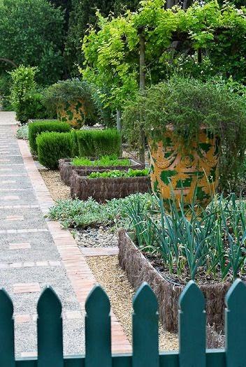 Willow bee inspired garden design no 18 the potager for French kitchen garden design
