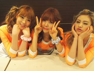 Orange Caramel Wallpaper HD 5