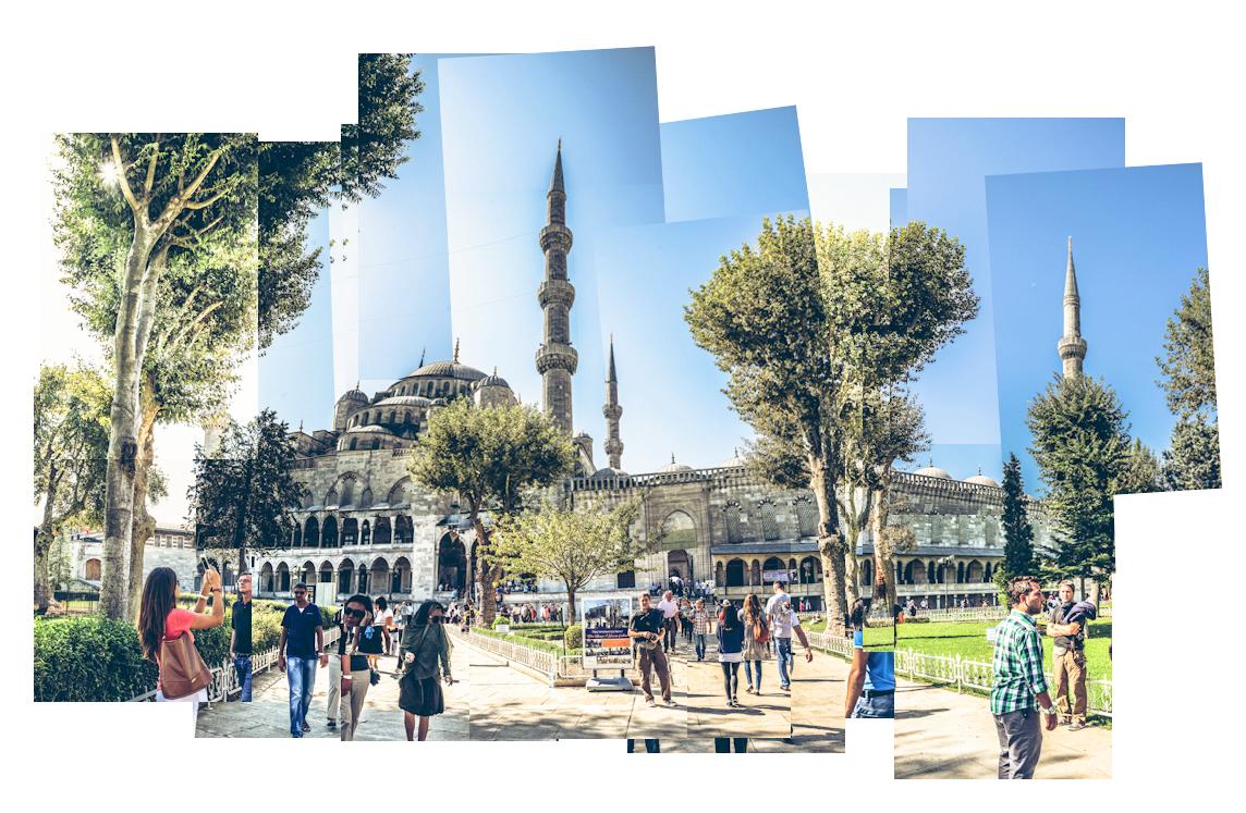Hocknex, Blaue Moschee, Istanbul