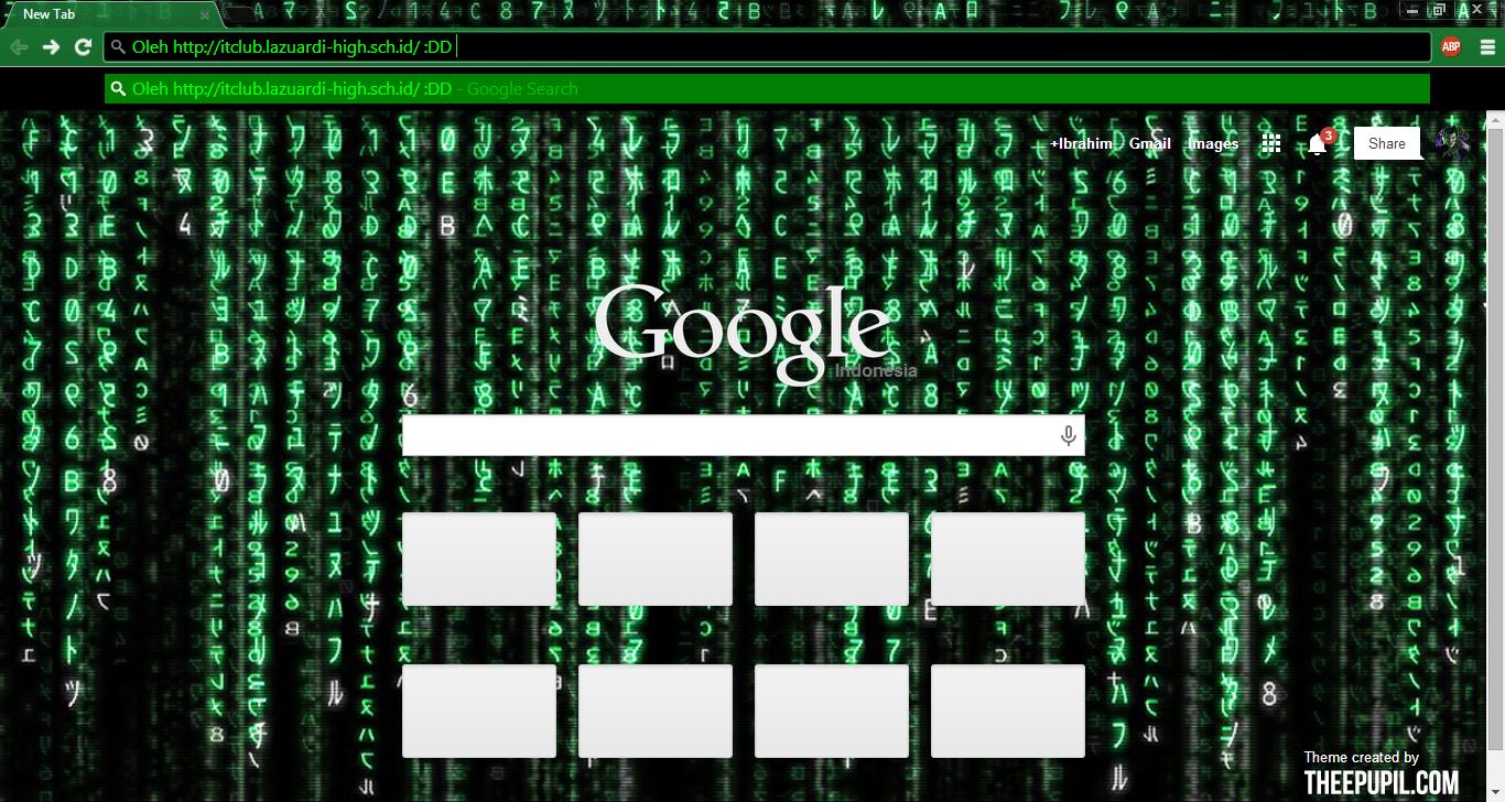 Google themes matrix - Heyy Semuanya Pada Entri Kali Ini Saya Akan Mengajarkan Ladies And Gentlemen Sekalian Bagaimana Mengganti Theme Background Google Chrome Anda