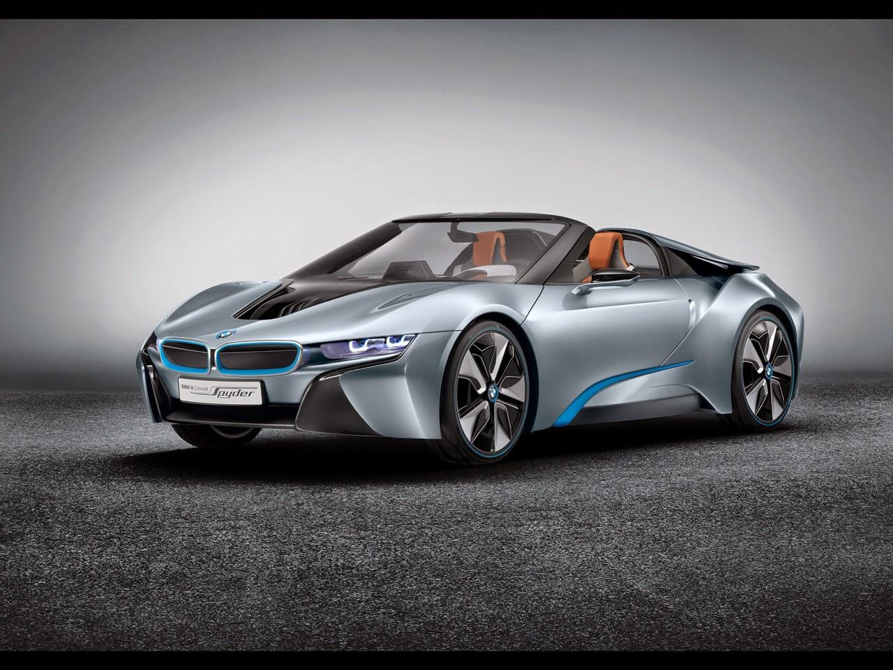BMW i8 Concept Car Model 2012